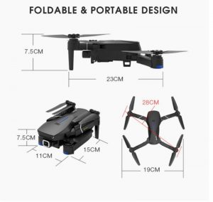 Eachine E520S GPS WIFI FPV Foldable RC Drone Quadcopter - Kid's Camera Co. Free Shipping Australia Wide   Buy Now, Pay Later