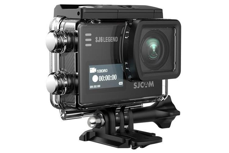 Sjcam Sj6 Legend Wi-Fi Wide Angle 16mp 4k Action Camera Wifi Black