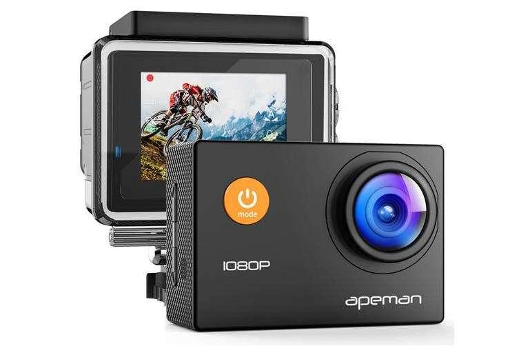 Apeman A66 Action Camera 1080P Full HD Waterproof Sport Camera