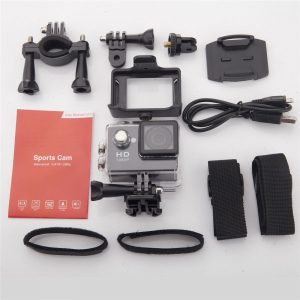 Sports Camera 30M Waterproof Loop Rec A9 Action Camera - Pink - Kid's Camera Co.jpg