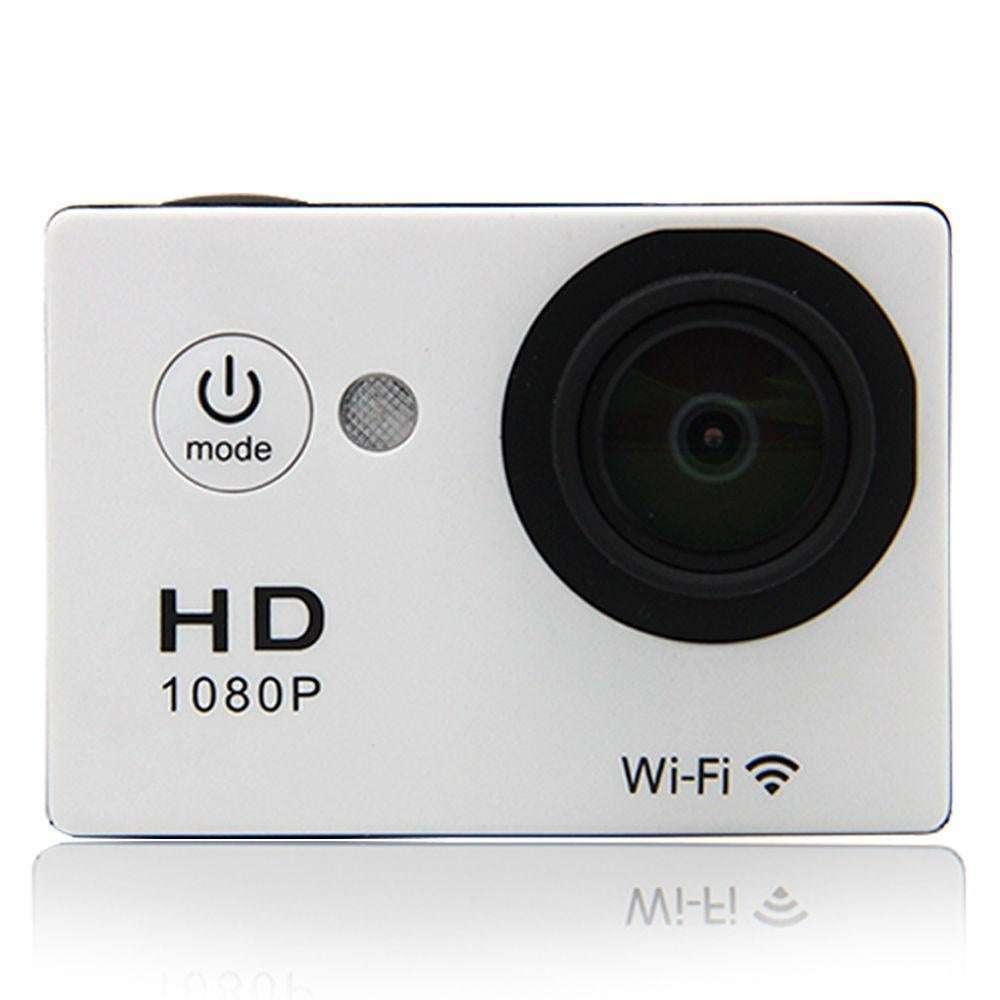 N9Se Portable 30M Waterproof Wi-Fi Loop Recording 1080P Action Camera White