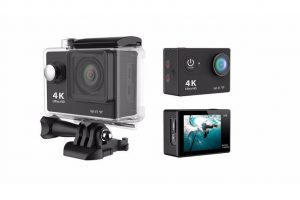 "4K Ultra Hd Sports Camera 30M Waterproof 2"" Lcd H9 Action Camera - Black - Kid's Camera Co.jpg"
