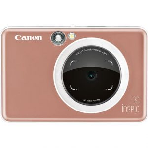 Canon INSPIC S Instant Camera with Smartphone Connectivity - Rose Gold - Kid's Camera Co.jpg