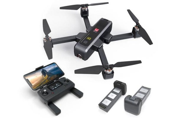 Elinz MJX Bugs 4W Foldable Drone 4K Camera GPS 5Ghz WiFi Quadcopter Brushless Motor B4W 3x Batteries - Kid's Camera Co.jpg