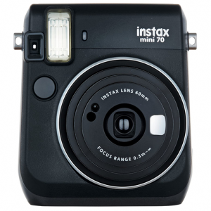 FujiFilm Instax Mini 70 Camera Black - FREE DELIVERY - Kid's Camera Co.jpg