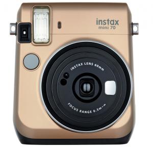 FujiFilm Instax Mini 70 Camera Gold - FREE DELIVERY - Kid's Camera Co.jpg