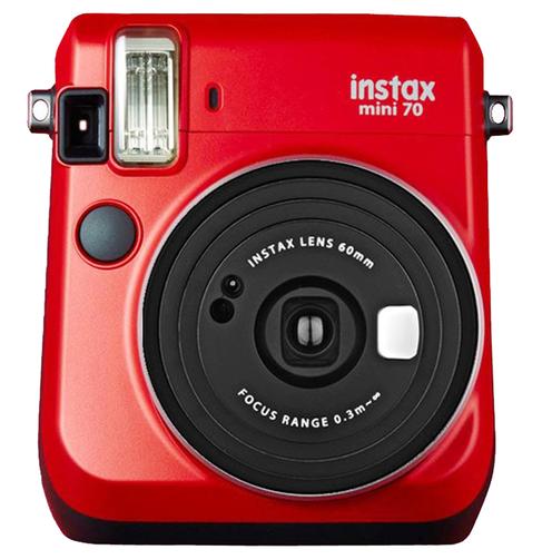 FujiFilm Instax Mini 70 Camera Red - FREE DELIVERY - Kid's Camera Co.jpg