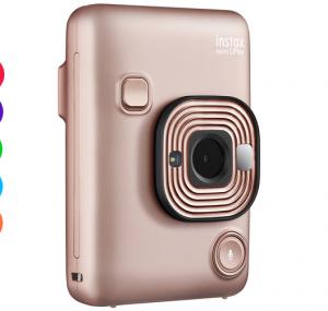 Fujifilm instax mini LiPlay Camera Blush Gold - FREE DELIVERY - Kid's Camera Co.jpg