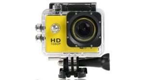 "Full Hd 1080P Sports Dv Camera 30M Waterproof + Wifi 1.5"" Lcd Mount Yellow - Kid's Camera Co.jpg"