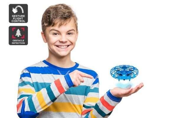 Galactic Gesture Controlled Mini Drone (Blue) - Kid's Camera Co.jpg