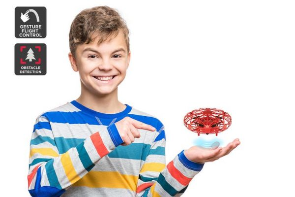 Galactic Gesture Controlled Mini Drone (Red) - Kid's Camera Co.jpg