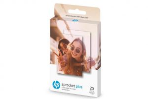Genuine HP Sprocket PLUS Zink Sticky backed Photo Paper 2LY73A (20 sheet