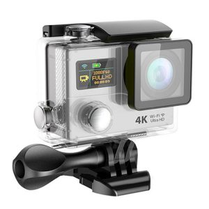 """Sport Camera Action 4K Wifi 2"""" Lcd Video With Remote Control White - Kid's Camera Co.jpg"""