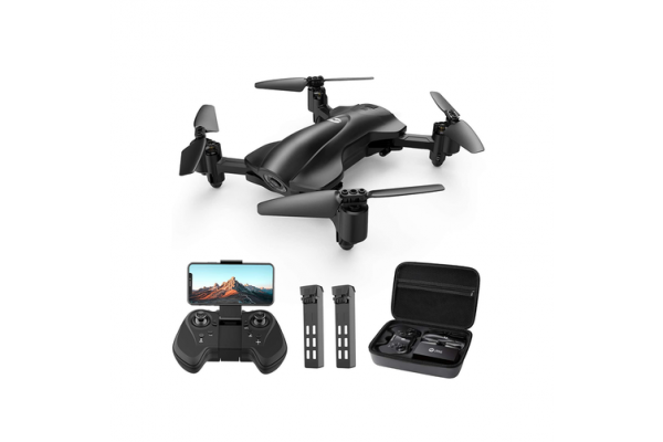 Holy Stone HS165 Fordable FPV Camera 1080p HD RC Drone [2 Batteries+Carry Case] - Kid's Camera Co.jpg