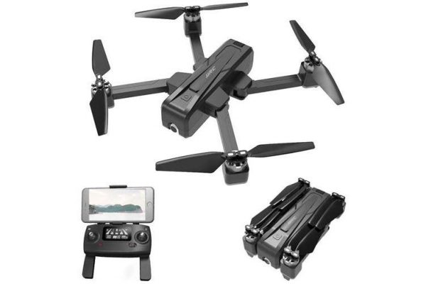 JJRC X11 5G WiFi GPS RC Drone RTF with GPS Location Tracking / Optical Flow Positioning-Black - Kid's Camera Co.jpg