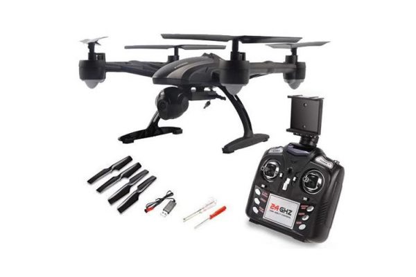 Jxd 509G Fpv Rc Drone Quadcopter Helicopter 5.8Ghz 4Ch 2.0Mp Camera With Monitor - Kid's Camera Co.jpg