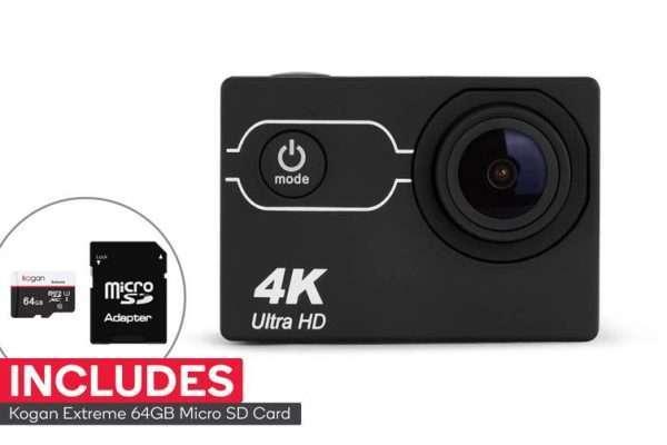 Kogan 4K Action Camera and 64GB Micro SD Card Combo - Kid's Camera Co.jpg
