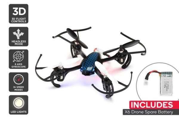 Kogan Cobra X6 Drone & Spare Battery - Kid's Camera Co.jpg