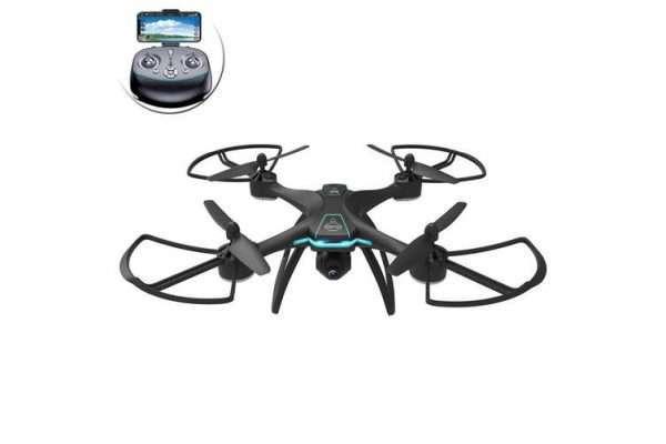 Lenoxx GPS Waypoints Quadcopter Selfie Drone HD Live Video Camera 2.4GHz Black - Kid's Camera Co.jpg