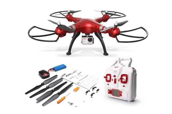 Syma X8Hg With 8Mp Hd Camera Altitude Hold Mode 2.4G 4Ch 6Axis Rc Quadcopter Rtf - Kid's Camera Co.jpg