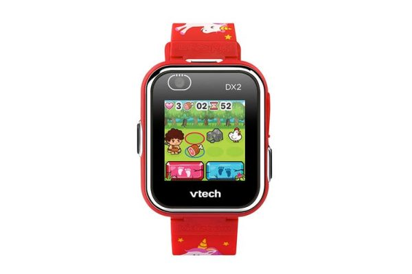 VTech Kidizoom Smartwatch DX2 (Red with Unicorns) - Kid's Camera Co.jpg