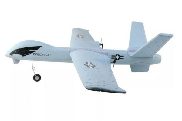 Z51 2.4G 2CH Predator Remote Control RC Airplane 660mm Wingspan Foam Hand Throwing Glider Drone DIY Kit for Kids Beginners - Grey Variant Size Value Grey - Kid's Camera Co.jpg