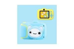 Kids Mini Digital Camera with Video - Blue Cat - Kids Camera Co. Australia