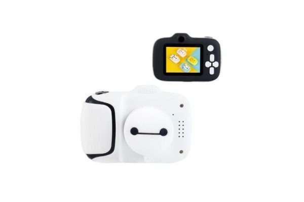 Kids Mini Digital Camera with Video - White - Kids Camera Co. Australia