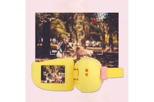 Kids Handheld Mini Digital Video Camcorder - Yellow - Kids Camera Co. Australia